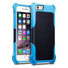Apple iPhone 6 Urban Element Case  Drop Resistant Rugged Black & Blue
