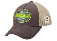 John Deere cap quality equipment marrón Collection 2020 cap béisbol basecap