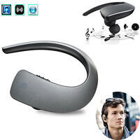 Stereo A2DP Bluetooth Headset Headphone For Samsung Galaxy S8 S7 S6 Edge S5 S4 3