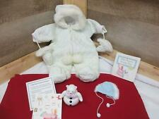 American Girl Bitty Bear's Snow Day Snowflakes OutfitSet Leggings Scarf Shoes