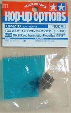 Tamiya 53210 Pignon TGX pignon Engrenage 15/19T modélisme