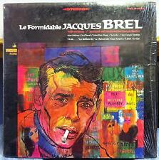 JACQUES BREL le formidable LP Mint- VSD-79265 Vanguard Stereo 1967 USA