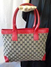 Vintage Gucci Monogram Kelly Style Handbag