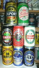 Collectable beer cans - Set of 8 assorted New Zealand beer cans 3