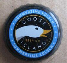 GOOSE ISLAND SUMMERTIME KOLSCH CHICAGO IL NO DENTS MICRO CRAFT BEER BOTTLE  CAP