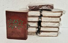Leather Journal Diary Notebook Handmade Blank Paper Travel Notepad Lot of 12