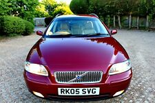 VOLVO V70 2.4 D5 AUTO / FULL SERVICE HISTORY / OUTSTANDING CONDITION / LONG MOT