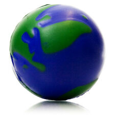 Earth Globe Stress Ball reliever stocking filler Christmas gift ADHD toy