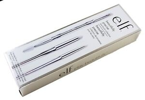 e.l.f. Beautifully Precise Eye Brush Collection Eyeliner, Eyebrow, Smudge - 3pcs