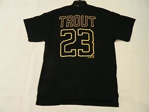 Official Mike Trout Salt Lake Bees Minor League Tshirt Angels Large