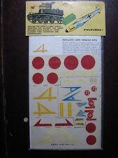 1/72  VINTAGE ESCI DECAL N°17 JAPON RESAN G8NI MITSUBISHI G4M / KL 109 / KL 67