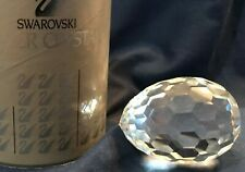 Swarovski Crystal Egg Paperweight 7458 Nr 063 069 Coa & Original Box