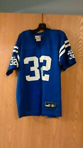 Vintage Puma Indianapolis Colts Edgerrin James #32 Jersey Youth Large 14-16