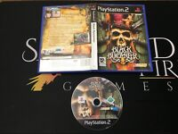 Black Buccaneer - Sony Playstation 2 (PS2) TESTED/WORKING SPA PAL