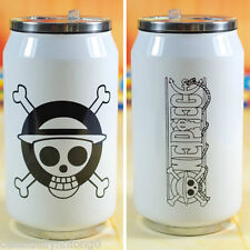 Anime One Piece Ring-pull Can Bottle Vacuum Coffee Tea Cup Cosplay Thermal Mug