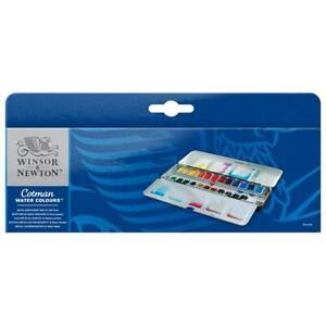 Cotman Watercolour Metal Sketchers' Box Set (24 Ha