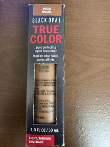 Black Opal True Color Pore Perfecting Liquid Foundation, Suede Mocha