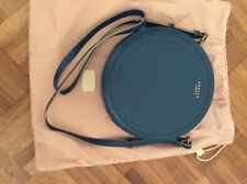 RADLEY TURQUOISE BLOOMSBURY ROUND LEATHER HANDBAG SHOULDER CROSS BODY BAG NEW!!!
