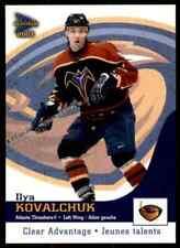 2002-03 McDonald's Pacific Clear Advantage Ilya Kovalchuk #2