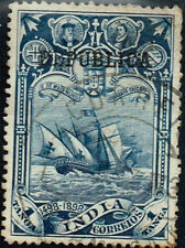 Portugise India Discovery Caravella classic stamp 1889