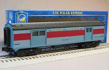 LIONEL POLAR EXPRESS STREAMLINER BAGGAGE CAR o gauge 6-35290 train 6-35291 NEW