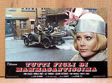TUTTI FIGLI DI MAMMASANTISSIMA fotobusta poster Christa Linder Old Car '20 M33
