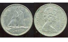 CANADA 10 cent  1973