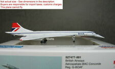 Herpa Wings 1/500 British Airways Concorde G-BOAF #527477- 001 metal plane !