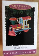1994 Hallmark Keepsake Ornament Yuletide Central Engine 1st in Series