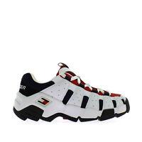 Tommy Hilfiger Heritage Chunky Sneaker Uomo EM0EM00342 020 RWB