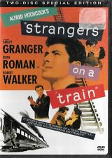 Alfred Hitchcock'S Strangers On A Train 2 Dvd Set Farley Granger