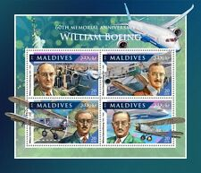 Maldiven / Maldives - Postfris/MNH - Sheet William Boeing 2016