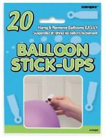 20 BALLOON STICK UPS HANG & REMOVE BALLOONS EASILY  PARTY DECORATIONS