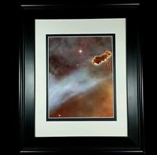 Hubble Telescope: Carina Nebula Outer Space Clouds Print (Matted & Framed NEW)