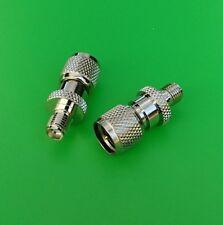 (10 PCS) SMA Female to Mini-UHF Male Connector - USA Seller