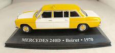 Kiosque ◊Mercedes 240D Beirut 1970  Taxi Mondo modellino ◊ 1/43 MIB