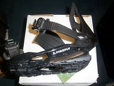 New Firefly snowboard bindings adult men's size large black