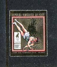Malagasy MNH, Olympics Atlanta-1996 Gold Foil.  x26498