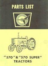 Cockshutt 25 Harvester Combine Operators Owners Manual