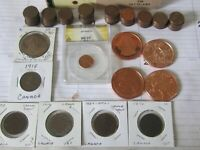 1150 WHEAT CENTS + 50 INDIAN HEAD CENT LOT (8 lbs) - CIGAR BOX PENNY COLLECTION