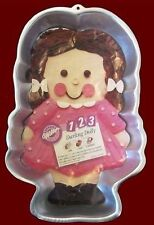 Wilton 123 Darling Dolly Cake Pan Complete No.9436 - NEW