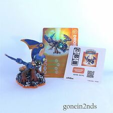 Skylanders Giants LIGHTCORE DROBOT + CARD + STICKER Trap Team/Superchargers