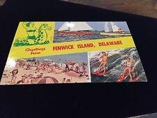 Fenwick Island, Delaware Postcard