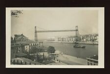 Spain BILBAO Vizcaya Bridgec1950/60s? RP PPC