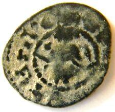 OSHIN  (1307-1320),KING-THRONE / CROSS, Armenian Pogh,Cilician Armenia,Armenie