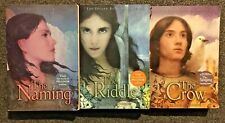 Alison Croggon Lot of 3  Fantasy series Pellinor: Naming Riddle Crow Softcover