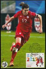 CANADA #2837.2 - FIFA WOMEN's WORLD CUP 2015 - CHRISTINE SINCLAIR MAXICARD # 2