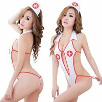 Sexy Girls Lingerie Nurse Costume Outfit Party Cosplay Fancy Dress Uniform