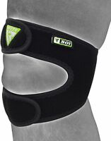 RDX Adjustable Knee Support MMA Brace Guard Protector Pad Sports Work Foam Cap
