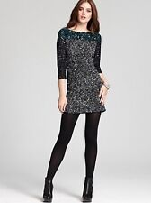 FCUK French Connection Spiegal Sequin Tunic Dress